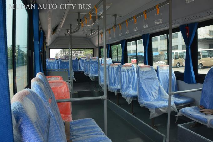 6.6 Meter Inter City Buses Public Transport Vehicle With Two Folding Passenger Door