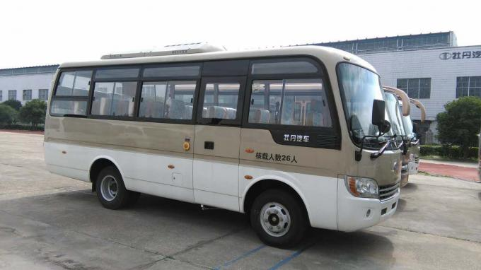 105Kw / 2600Rpm Rosa Minibus Right Hand Drive 24 Passenger Van with Mitsubishi Engine