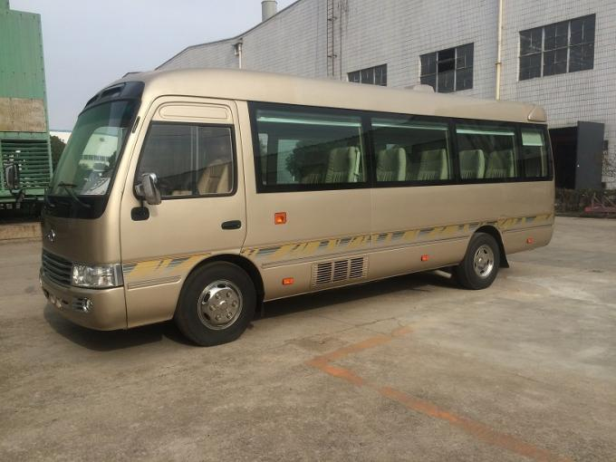 Diesel Coaster Automobile 30 Seater Bus ISUZU Engine With Multiple Functions