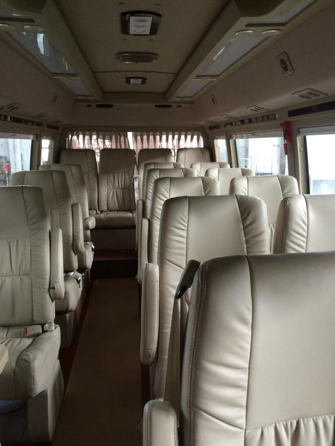 Luxury Bus Body 30 Seater Minibus Original City Service Bus Manual Gearbox