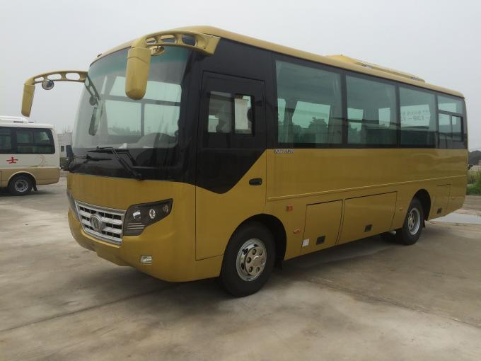 Public Transport 30 Passenger Party Bus 7.7 Meter Safety Diesel Engine Beautiful Body