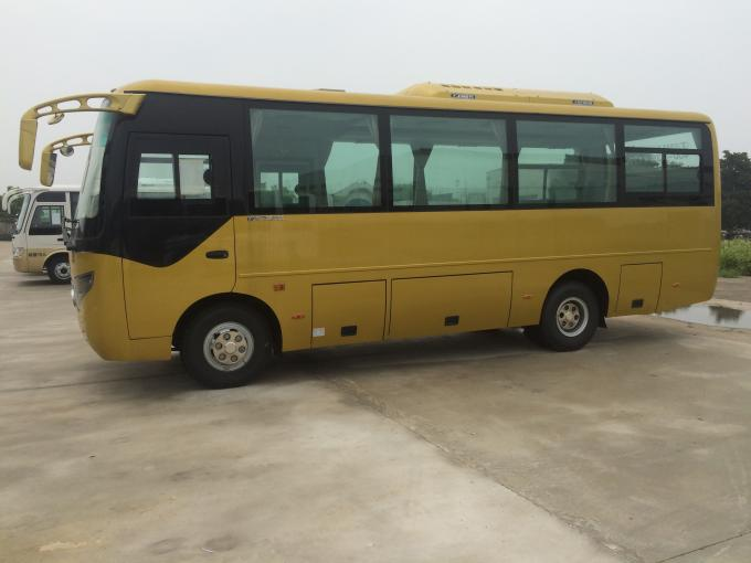 Double Door Public 30 Seater Minibus Cummins Engine With Multiple Functions