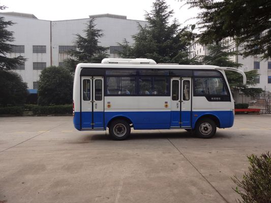 Trung Quốc 6.6 Meter Inter City Buses Public Transport Vehicle With Two Folding Passenger Door nhà cung cấp