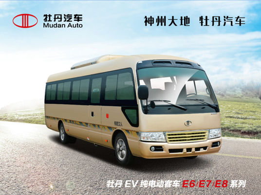 Trung Quốc Rear Open Door 6 Meter Transporter Minivan Coaster Type Sealed Mini Van With Yuchai Engine nhà cung cấp