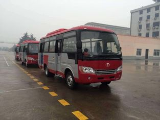 Trung Quốc Durable Red Star Travel Buses With 31 Seats Capacity Small Passenger Bus For Company nhà cung cấp