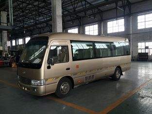 Trung Quốc Swing Door / Sliding Door Coaster Mini Bus Toyota Type Front Semi - Integral Body nhà cung cấp