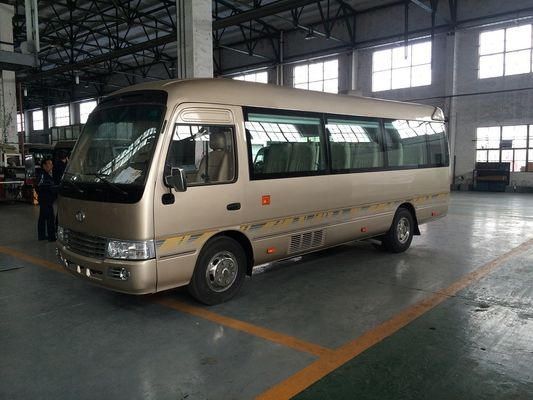 Trung Quốc 7.5M Length Golden Star Minibus Sightseeing Tour Bus 2982cc Displacement nhà cung cấp