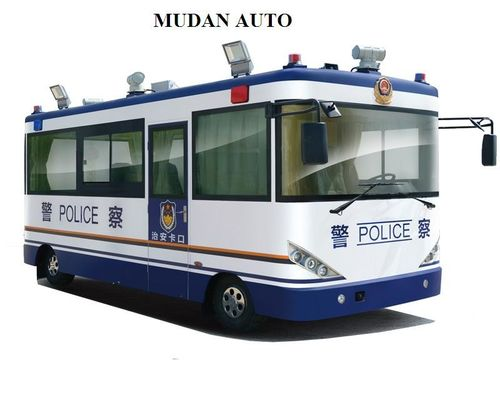 Trung Quốc White Blue Traveling Security Police Officer Patrolling Pecial Purpose Vehicles nhà phân phối